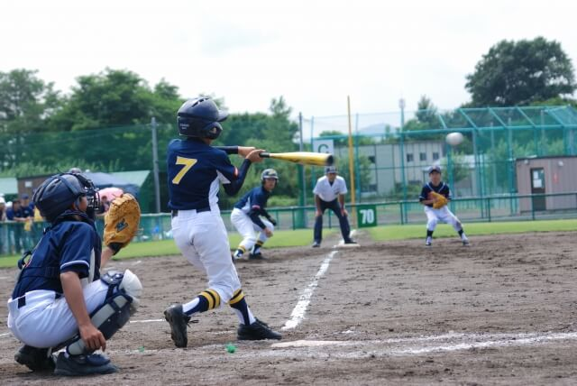 中学生の野球チームに体力測定を行う意義