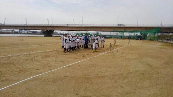 中学生の野球チームにおける体力測定で感じたこと