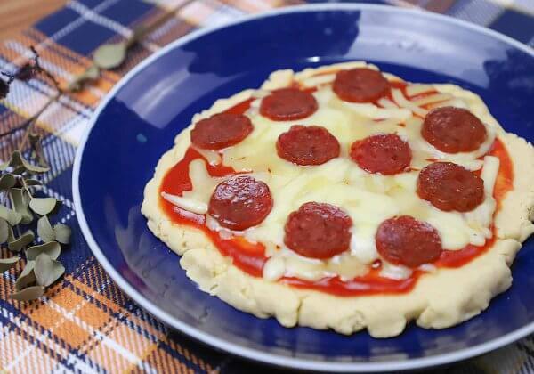 プロテイン入りピザ(ナチュラル)
