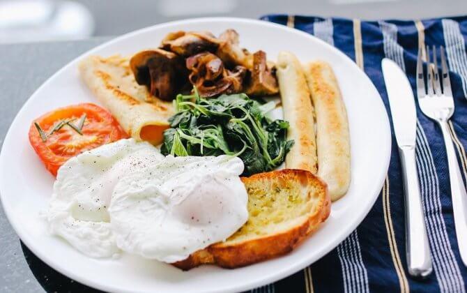 プロテインを朝食として摂取することの有用性