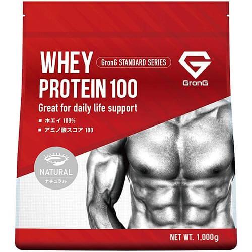 ホエイプロテイン100 ナチュラル 1kg - 01