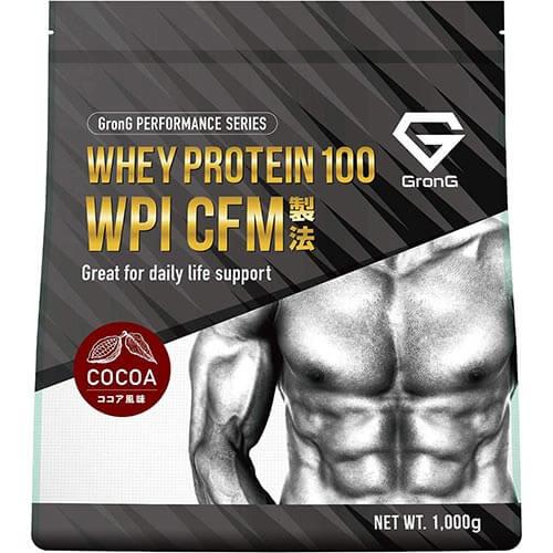 ホエイプロテイン100 WPI ココア風味 1kg