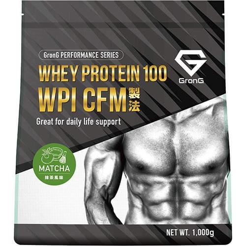 ホエイプロテイン100 WPI 抹茶風味 1kg
