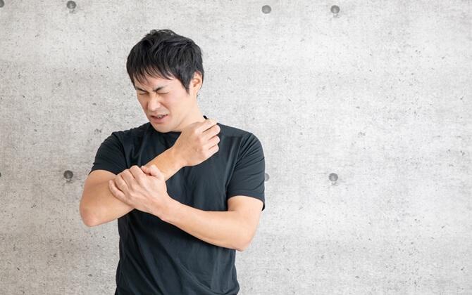 五十肩(四十肩)の特徴的な症状