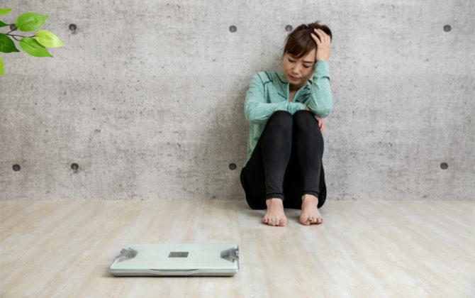 ダイエットに訪れる停滞期!挫折しないための対処法とは?