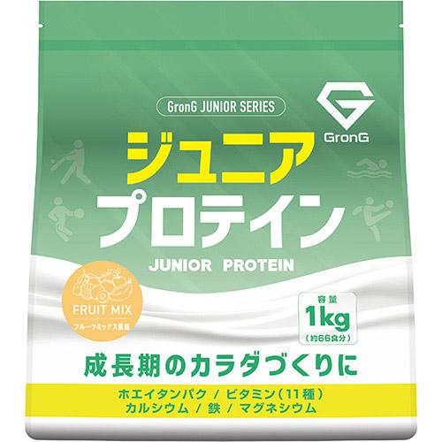 ジュニアプロテイン フルーツミックス風味 1kg - 01