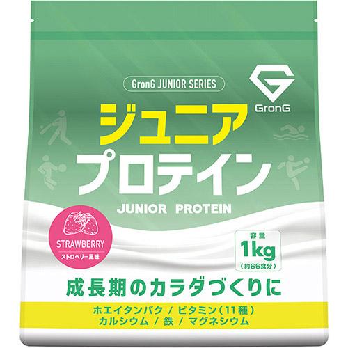 ジュニアプロテイン ストロベリー風味 1kg - 01