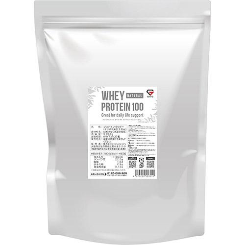 ホエイプロテイン100 無添加 ナチュラル 3kg - 01