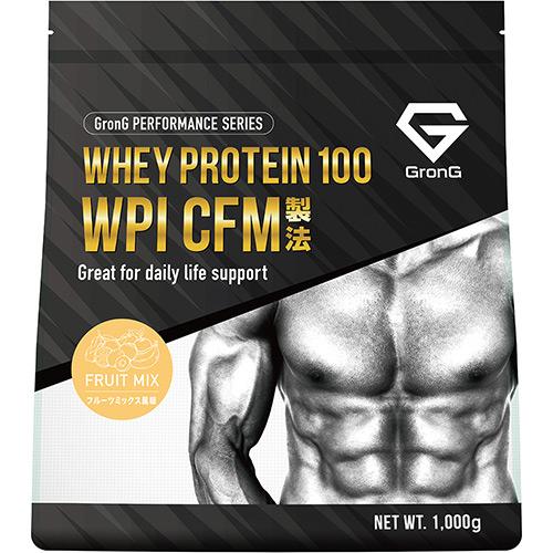 ホエイプロテイン100 WPI パフォーマンス フルーツミックス風味 1kg - 01