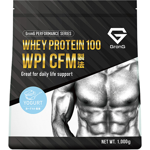 ホエイプロテイン100 WPI パフォーマンス ヨーグルト風味 1kg - 01