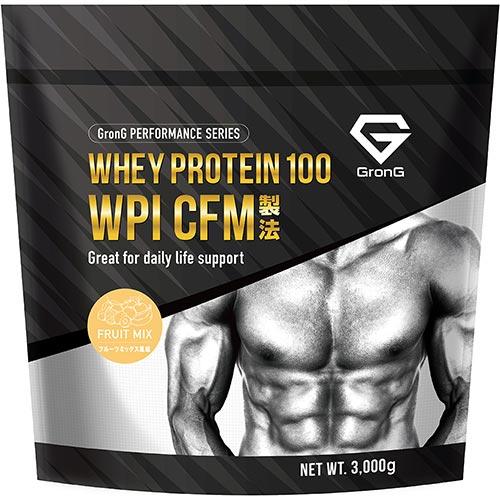 ホエイプロテイン100 WPI パフォーマンス フルーツミックス風味 3kg - 01