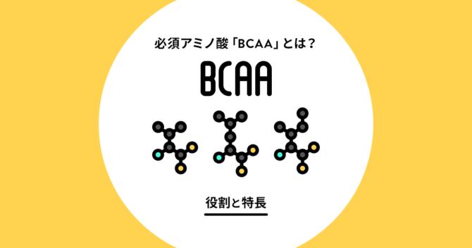 BCAAとは?人体における役割と特長について