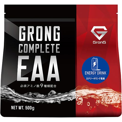 COMPLETE EAA エナジードリンク風味 500g - 01