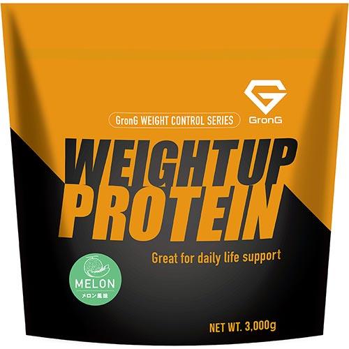 ホエイプロテイン100 ウェイトアッププロテイン メロン風味 3kg - 01