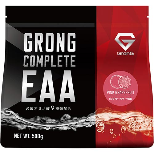 COMPLETE EAA ピンクグレープフルーツ風味 500g - 01